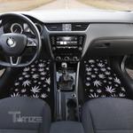 Weed leaf hologram pattern Car floor mat