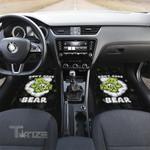 Weed dont care bear Car floor mat