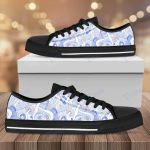 Mushroom Pattern Low Top Canvas Shoes