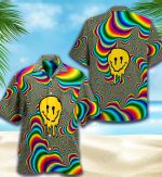 LSD Psychedelic All Over Printed Hawaiian Shirt Size S - 5XL