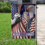 911 firefighter never forget Garden Flag, House Flag