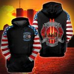 911 firefighter we will never forget 3D All Over Printed Shirt, Sweatshirt, Hoodie, Bomber Jacket Size S - 5XL