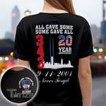 20 year anniversary 9-11-2001 never forget Graphic Unisex T Shirt, Sweatshirt, Hoodie Size S - 5XL