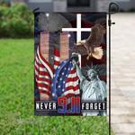 911 never forget america Garden Flag, House Flag