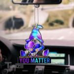 Suicide gnome you matter Car Ornament