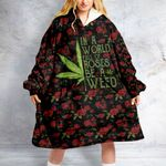 Weed Leaf Roses Oodie