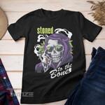 Weed halloween pumpkin witch Graphic Unisex T Shirt, Sweatshirt, Hoodie Size S - 5XL