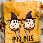 Halloween Witch Boo Bees Graphic Unisex T Shirt, Sweatshirt, Hoodie Size S - 5XL