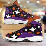 Halloween ghost pumpkin pattern 13 Sneakers XIII Shoes
