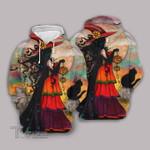 Halloween pumpkin horror witch 3D All Over Printed Shirt, Sweatshirt, Hoodie, Bomber Jacket Size S - 5XL
