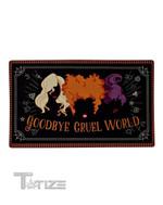 Halloween movie Hocus Pocus goodbye gruel world Doormat