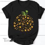 Dental Pumpkin Funny Halloween  Graphic Unisex T Shirt, Sweatshirt, Hoodie Size S - 5XL