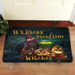 Hocus pocus Halloween movie black cat Doormat