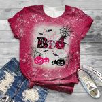 Breast cancer halloween boo 3D All Over Printed Shirt, Sweatshirt, Hoodie, Bomber Jacket Size S - 5XL