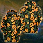 Weed Pumpkin Pattern 3D All Over Printed Shirt, Sweatshirt, Hoodie, Bomber Jacket Size S - 5XL