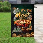 Weed halloween it's the most wonderful time of the year Garden Flag, House Flag
