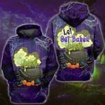 Weed Halloween Baked 3D All Over Printed Shirt, Sweatshirt, Hoodie, Bomber Jacket Size S - 5XL