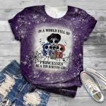 Halloween in a world full of princesses be a tim burton girl 3D All Over Printed Shirt, Sweatshirt, Hoodie, Bomber Jacket Size S - 5XL