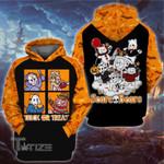 Halloween horror scare bears 3D All Over Printed Shirt, Sweatshirt, Hoodie, Bomber Jacket Size S - 5XL