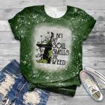 Weed halloween witch i bet my soul smells like weed 3D All Over Printed Shirt, Sweatshirt, Hoodie, Bomber Jacket Size S - 5XL