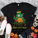 Weed halloween pumpkin bear Graphic Unisex T Shirt, Sweatshirt, Hoodie Size S - 5XL