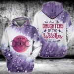 Witch halloween we are the granddaughters of the witches 3D All Over Printed Shirt, Sweatshirt, Hoodie, Bomber Jacket Size S - 5XL