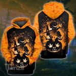 Weed halloween horror movie 3D All Over Printed Shirt, Sweatshirt, Hoodie, Bomber Jacket Size S - 5XL