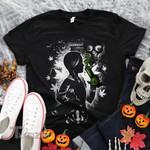Weed halloween bloody wednesday Graphic Unisex T Shirt, Sweatshirt, Hoodie Size S - 5XL