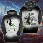 Weed halloween witch i bet my soul smells like weed custom name 3D All Over Printed Shirt, Sweatshirt, Hoodie, Bomber Jacket Size S - 5XL