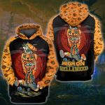 Weed halloween skull happy hellaweed 3D All Over Printed Shirt, Sweatshirt, Hoodie, Bomber Jacket Size S - 5XL