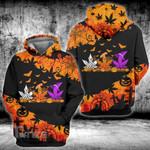 Weed leaf halloween pattern 3D All Over Printed Shirt, Sweatshirt, Hoodie, Bomber Jacket Size S - 5XL