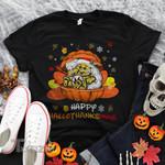 Weed bear happy hallothanksmas Graphic Unisex T Shirt, Sweatshirt, Hoodie Size S - 5XL