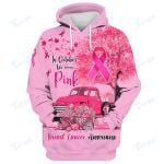 In October We Wear Ping Breast Cancer Awareness 3D All Over Printed Shirt, Sweatshirt, Hoodie, Bomber Jacket Size S - 5XL