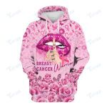 Breast Cancer Warrior Breast Cancer Awareness 3D All Over Printed Shirt, Sweatshirt, Hoodie, Bomber Jacket Size S - 5XL