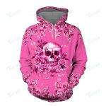 BREAST CANCER WARRIOR 3D All Over Printed Shirt, Sweatshirt, Hoodie, Bomber Jacket Size S - 5XL