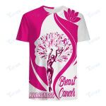 BREAST CANCER AWARENESS 3D All Over Printed Shirt, Sweatshirt, Hoodie, Bomber Jacket Size S - 5XL