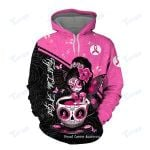 Fight Like A Girl Breast Cancer Awareness 3D All Over Printed Shirt, Sweatshirt, Hoodie, Bomber Jacket Size S - 5XL