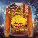 Trump make halloween great again 3D All Over Printed Shirt, Sweatshirt, Hoodie, Bomber Jacket Size S - 5XL