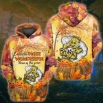 Weed Don't Care Bear Fall 3D All Over Printed Shirt, Sweatshirt, Hoodie, Bomber Jacket Size S - 5XL