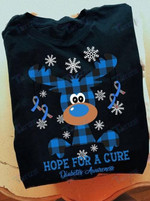 Diabetes Awareness Hope For A Cure Graphic Unisex T Shirt, Sweatshirt, Hoodie Size S - 5XL
