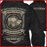 Veteran Im The Last Of A Dying Breed Of People Who Aren'T Afraid To Get Their Hand Dirty Graphic Unisex T Shirt, Sweatshirt, Hoodie Size S - 5XL