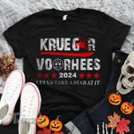 Krueger voorhees 2021 horror movie halloween Graphic Unisex T Shirt, Sweatshirt, Hoodie Size S - 5XL