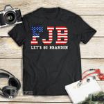 Let's Go Brandon Funny Biden Graphic Unisex T Shirt, Sweatshirt, Hoodie Size S - 5XL