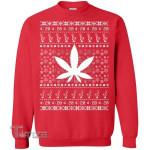Weed Marijuana Ugly Christmas Sweater Graphic Unisex T Shirt, Sweatshirt, Hoodie Size S - 5XL