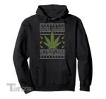 Get Baked Weed Ugly Christmas Sweater Xmas Marijuana Meme Graphic Unisex T Shirt, Sweatshirt, Hoodie Size S - 5XL