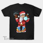 Hype Santa Smoke Weed christmas Graphic Unisex T Shirt, Sweatshirt, Hoodie Size S - 5XL