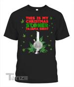This Is My Christmas Stoner Pajama Shirt Weed Bong Graphic Unisex T Shirt, Sweatshirt, Hoodie Size S - 5XL