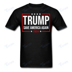 Trump 2024 Save America Graphic Unisex T Shirt, Sweatshirt, Hoodie Size S - 5XL