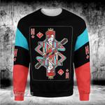 Music Pop star card David Bowie 3D All Over Printed Shirt, Sweatshirt, Hoodie, Bomber Jacket Size S - 5XL