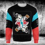 Music Pop star card Freddy mercury 3D All Over Printed Shirt, Sweatshirt, Hoodie, Bomber Jacket Size S - 5XL